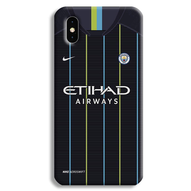 Manchester City Away iPhone XS Case