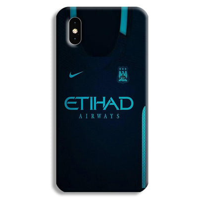 Manchester City Away Jersey iPhone XS Case