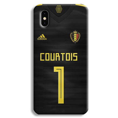 Thibaut Courtois of Club Jersy iPhone XS Case