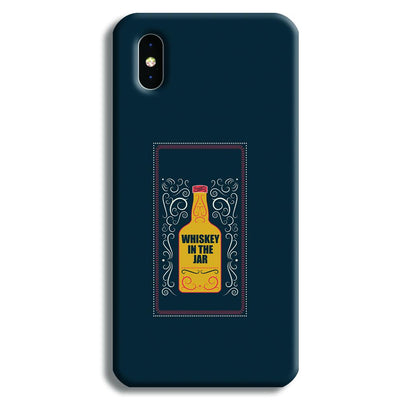 Whiskey In The Jar   iPhone X Case