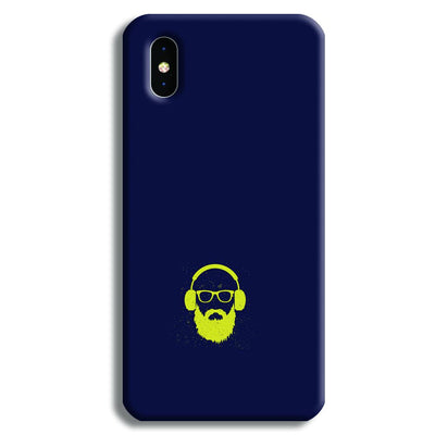 Bearded Man iPhone XS Case