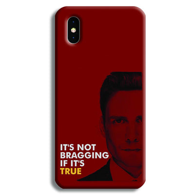 It's Not bragging if its true iPhone X Case