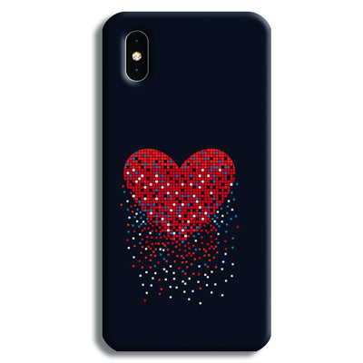 Sparkling Heart iPhone X Case
