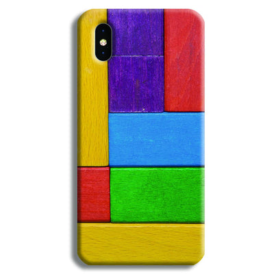 Color Block iPhone XS Case