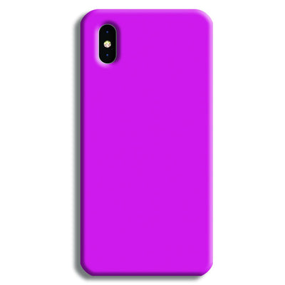 Pink Shade iPhone XS Case
