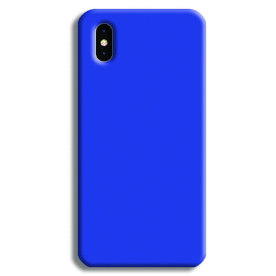 Dark Blue iPhone XS Case