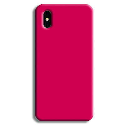 Shade of Pink iPhone XS Case