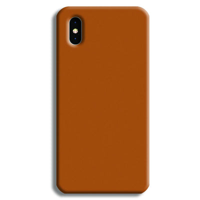 Lite Brown iPhone XS Case