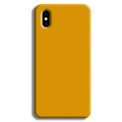 Yellow Ochre iPhone XS Case