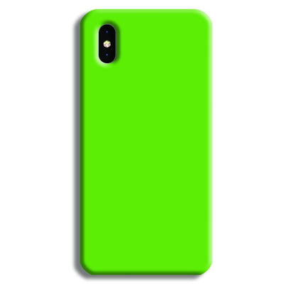 Green iPhone XS Case
