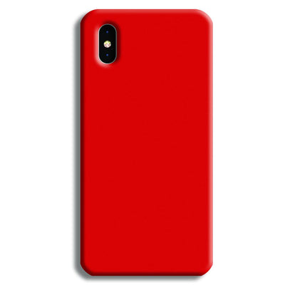 Lite Red iPhone XS Case