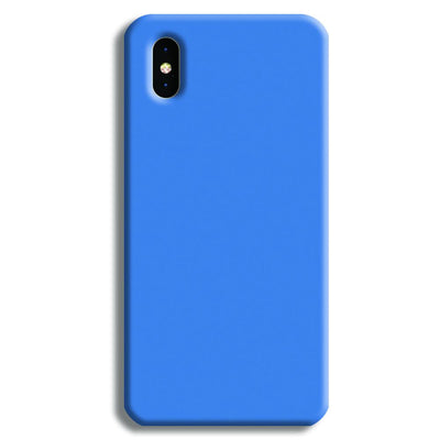 Sky Blue iPhone XS Case