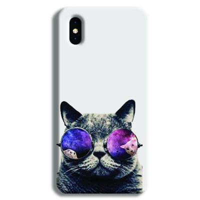 Cool Cat iPhone X Case
