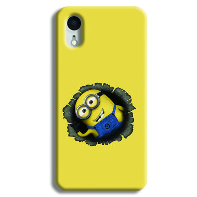 Laughing Minion iPhone XR Case