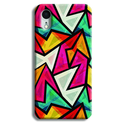 Angular Pattern iPhone XR Case
