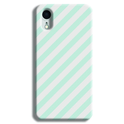 Stripe Pattern iPhone XR Case