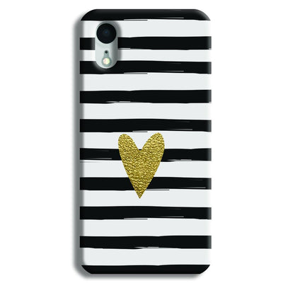 Bling Heart iPhone XR Case