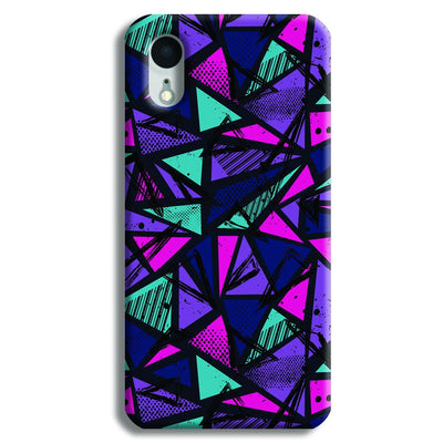 Blues Pattern iPhone XR Case