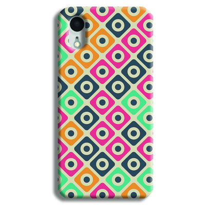 Shapes Pattern iPhone XR Case