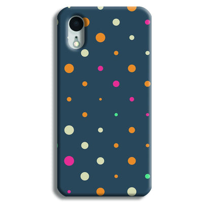 Polka Dot Pattern iPhone XR Case