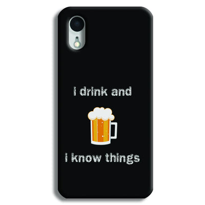 I Drink iPhone XR Case