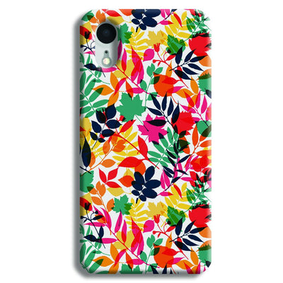 Wild Flora iPhone XR Case