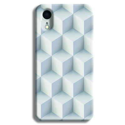 3D Cubes iPhone XR Case