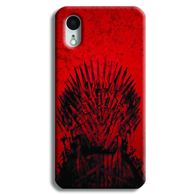 Red Hot Iron Thrones iPhone XR Case