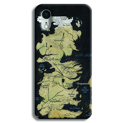 Game of Thrones Map iPhone XR Case
