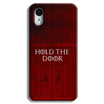 Hold The Door iPhone XR Case