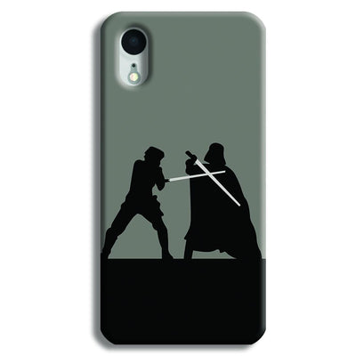 Luke vs Vader iPhone XR Case