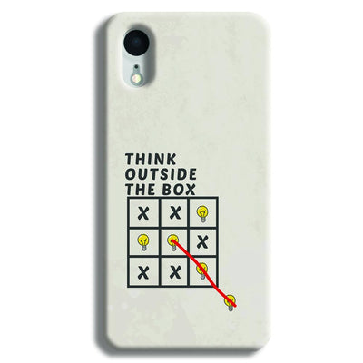Think Outside the Box iPhone XR Case