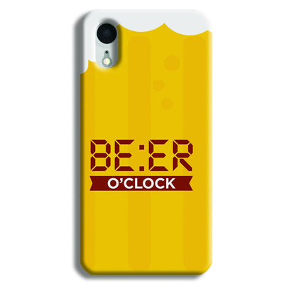 Beer O' Clock iPhone XR Case