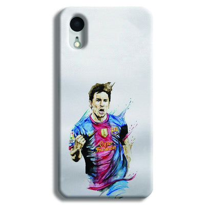 Messi White iPhone XR Case