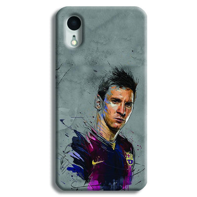 Messi Grey iPhone XR Case