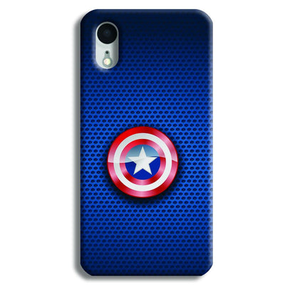 Captain America Logo iPhone XR Case