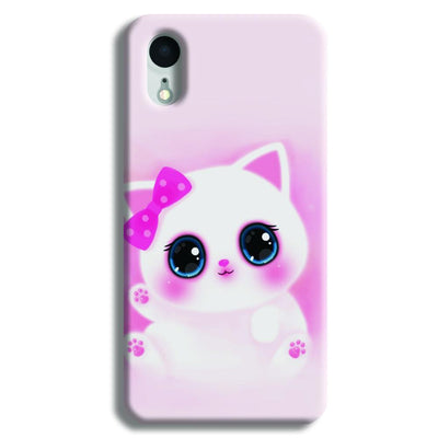 Pink Cat iPhone XR Case