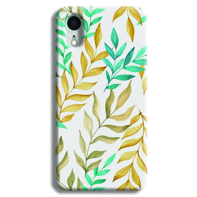 Tropical leaves  iPhone XR Case