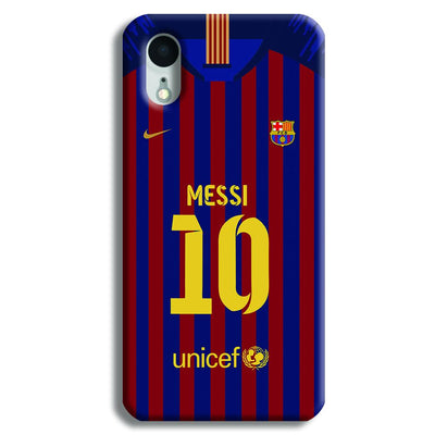 Messi (FC Barcelona) Jersey iPhone XR Case