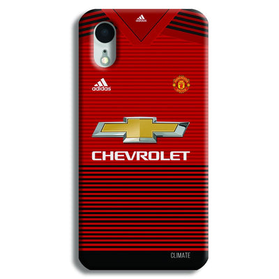 Manchester United Jersey iPhone XR Case