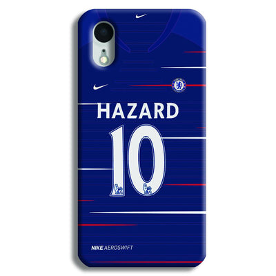 Hazard Jersey iPhone XR Case