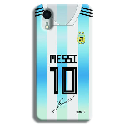Messi Jersey iPhone XR Case