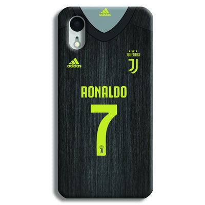 Ronaldo (Juventus) Jersey iPhone XR Case