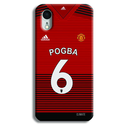 Pogba Jersey iPhone XR Case
