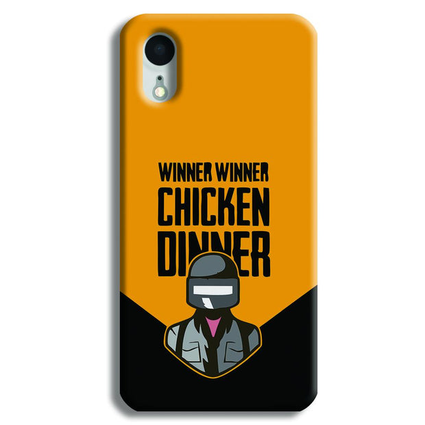 Pubg Chicken Dinner iPhone XR Case