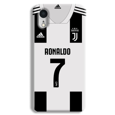Ronaldo Juventus Home iPhone XR Case