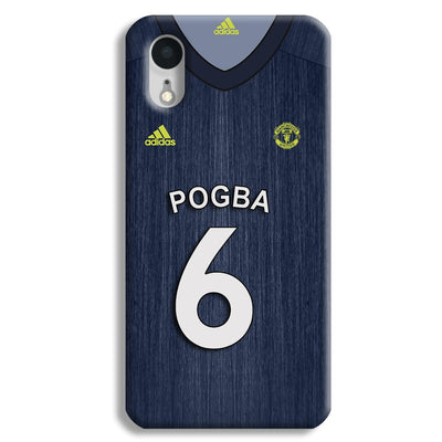 Pogba Manchester United Third iPhone XR Case
