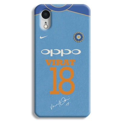 Virat Kohli Jersey iPhone XR Case