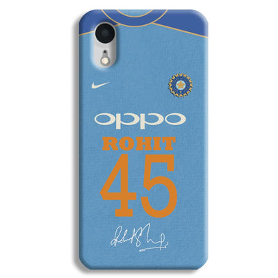 Rohit Sharma Jersey iPhone XR Case