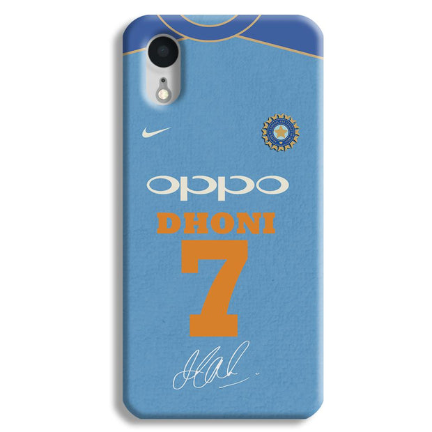 Dhoni Jersey iPhone XR Case